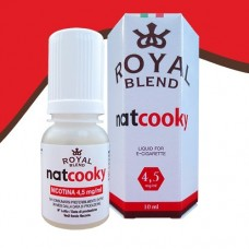 Royal Blend - Natcoooky 4,5mg nicotina 10ml