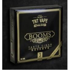 TNT Vape - BOOMS RESERVE 6mg nicotina 3x10ml