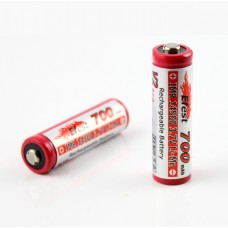 Efest 14500 700mAh IMR 3.7V Rechargeable LiMn High Drain battery- button top