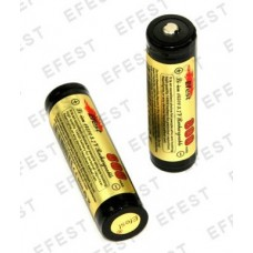 Efest 14500 800mAh 3.7V Nipple rechargeable Li-iont battery with PCB