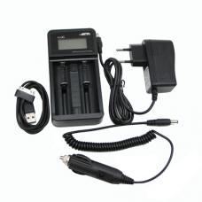Caricabatterie Efest LUC V2 LCD & USB charger