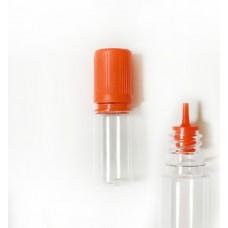 Boccetta 10ml con contagocce e tappo arancione