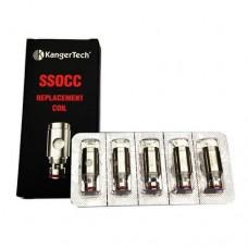 Head Coil SSOCC per atomizzatori Kanger da 1,2ohm - Pacco da 5 pezzi
